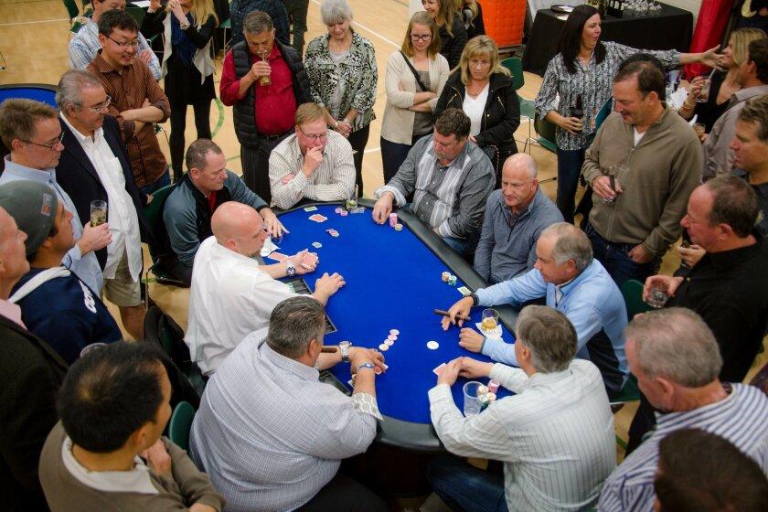 "Rancho Santa Fe Community Center's ""Put Your Hearts on the Table"" Poker Tournament 2015. Courtesy photo"