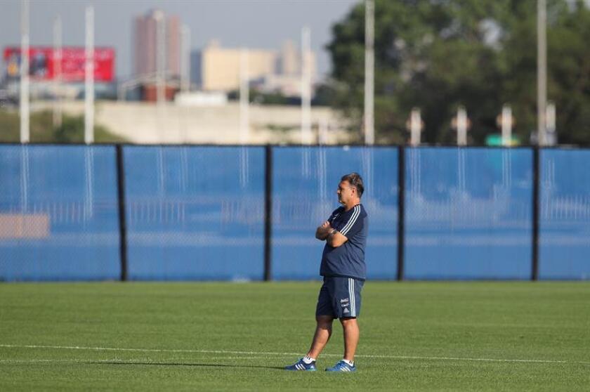 En la imagen, el argentino Gerardo 'Tata' Martino, que dirige al Atlanta United. EFE/Archivo