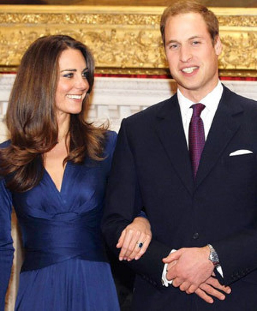 2011 will bring an interest in all things royal, including the planned marriage of Britain's Prince William and Kate Middleton.