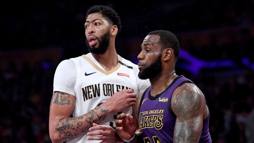 Column Lakers Are Winners In Anthony Davis Trade No Matter
