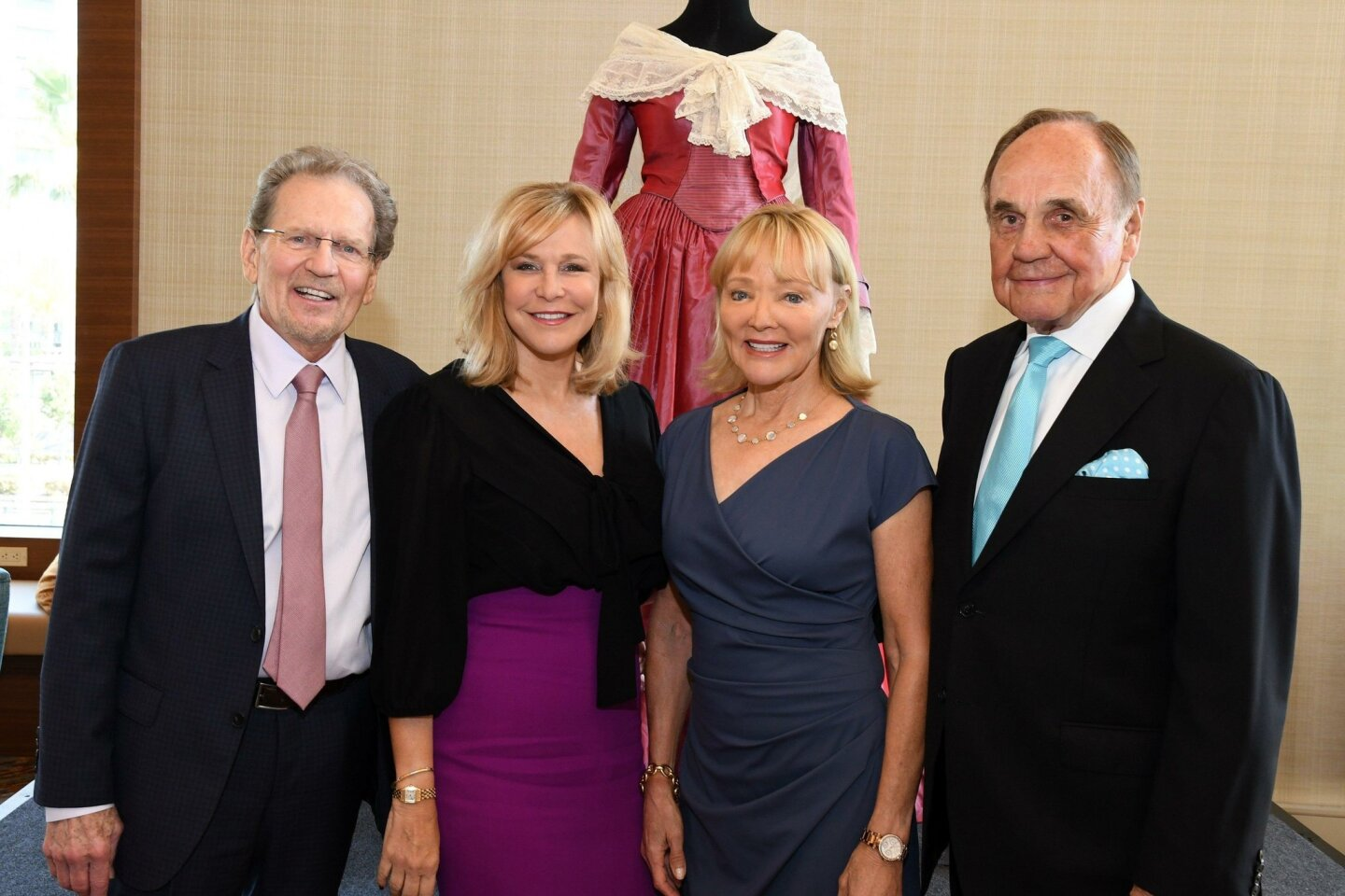 Honorary chairs: Robert and Stacey Foxworth, Barbara and Dick Enberg
