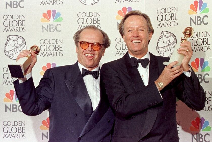Peter Fonda and Jack Nicholson