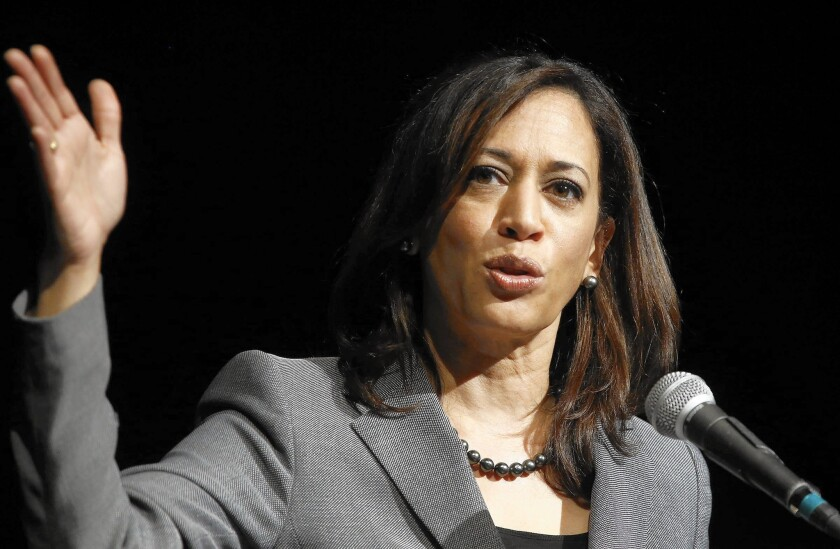 Uncertainties abound as state Atty. Gen. Kamala Harris emerges as the clear early front-runner in the 2016 election for an open U.S. Senate seat.