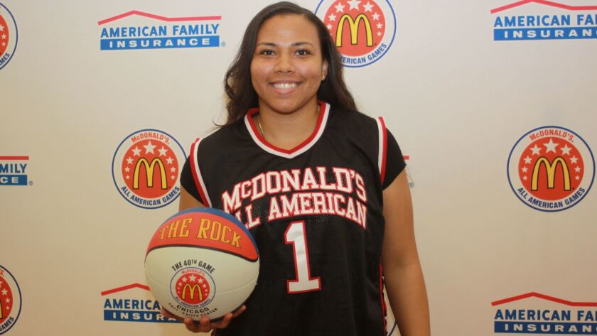 The Bishop's School basketball star Destiny Littleton.