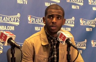 Chris Paul talks about Clippers loss in Game 1