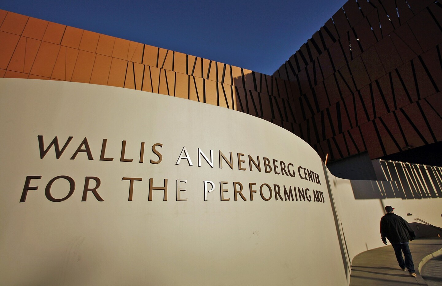 The Wallis Annenberg Center for the Performing Arts located on a 2.5-acre site at the intersection of Santa Monica Boulevard and Canon Drive in Beverly Hills on October 30, 2013. The site includes the expanded 1934 Beverly Hills Post Office and a new 500-seat Bram Goldsmith Theater designed by SPF architect Zoltan Pali.