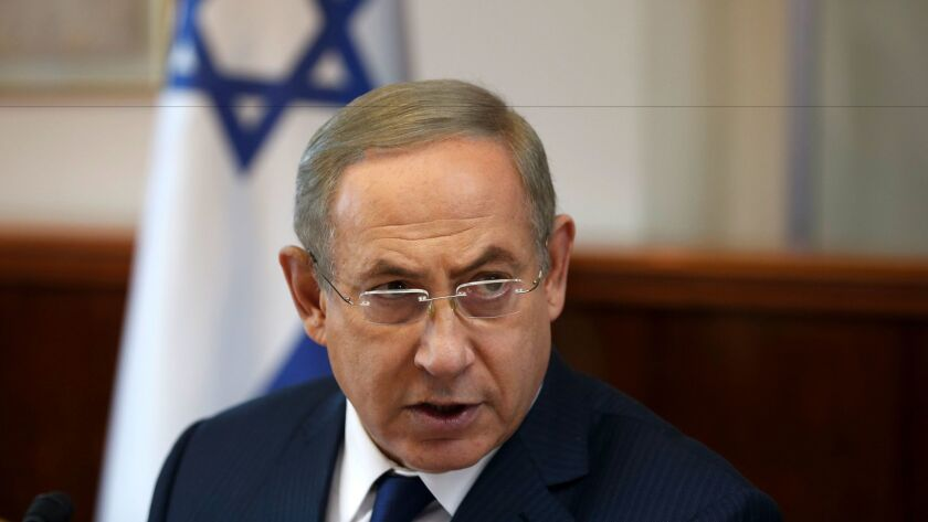 Israeli Prime Minister Benjamin Netanyahu lent the measure his support for the first time Sunday.