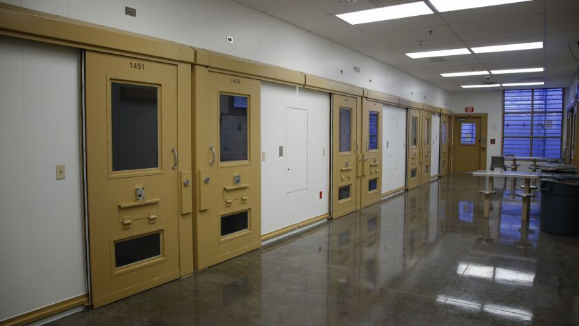The medical section of Otay Mesa Detention Center.