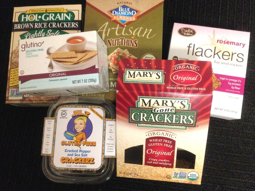 There are plenty of gluten-free cracker options.