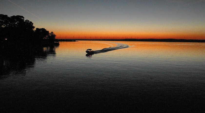 The Sacramento-San Joaquin River Delta near the town of Rio Vista. Farmers and water agencies want the Supreme Court to throw out water pumping restrictions imposed to protect the delta smelt.
