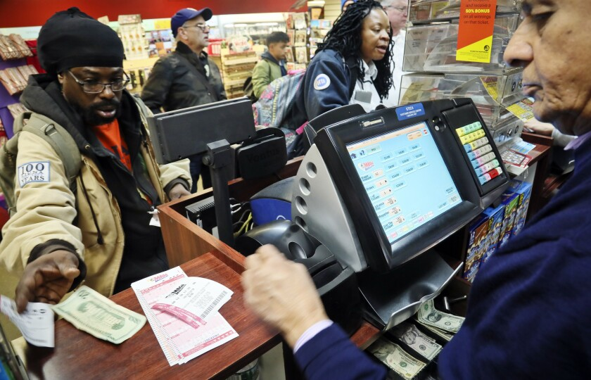 The Mega Millions lottery will be drawn Tuesday, with the prize at a whopping $1.6 billion.