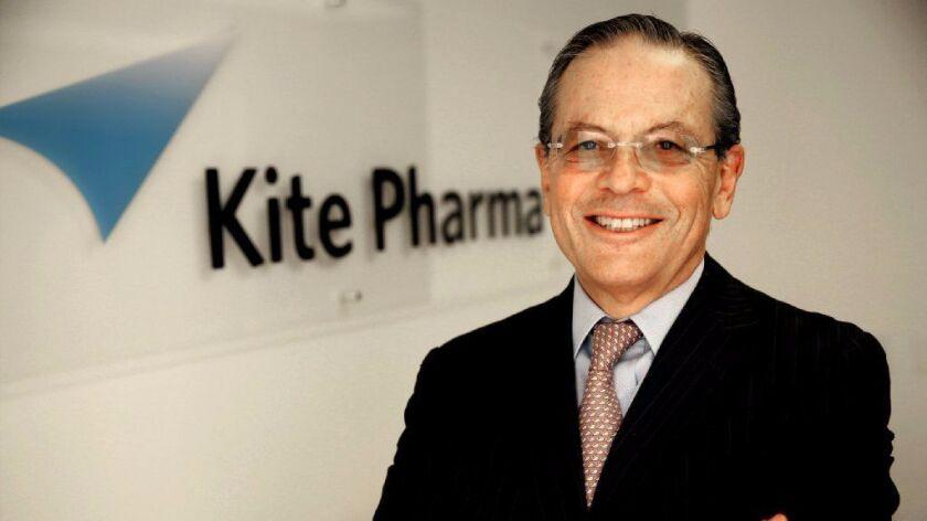 UCLA urology researcher Arie Belldegrun runs Kite Pharma, a Santa Monica company testing a new treat