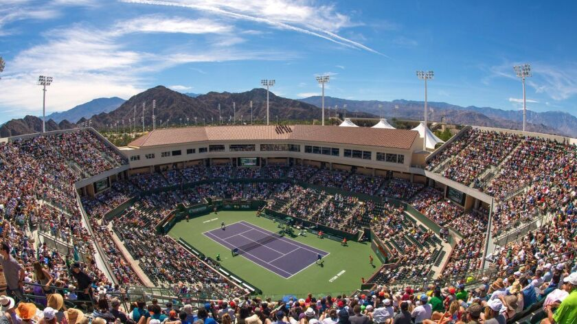 The BNP Paribas Open at the Indian Wells begins on Monday.