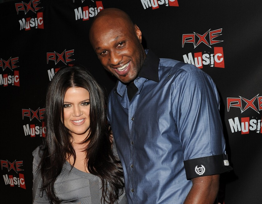 Khloe Kardashian and Lamar Odom, shown in 2010, are closer to finalizing their divorce.
