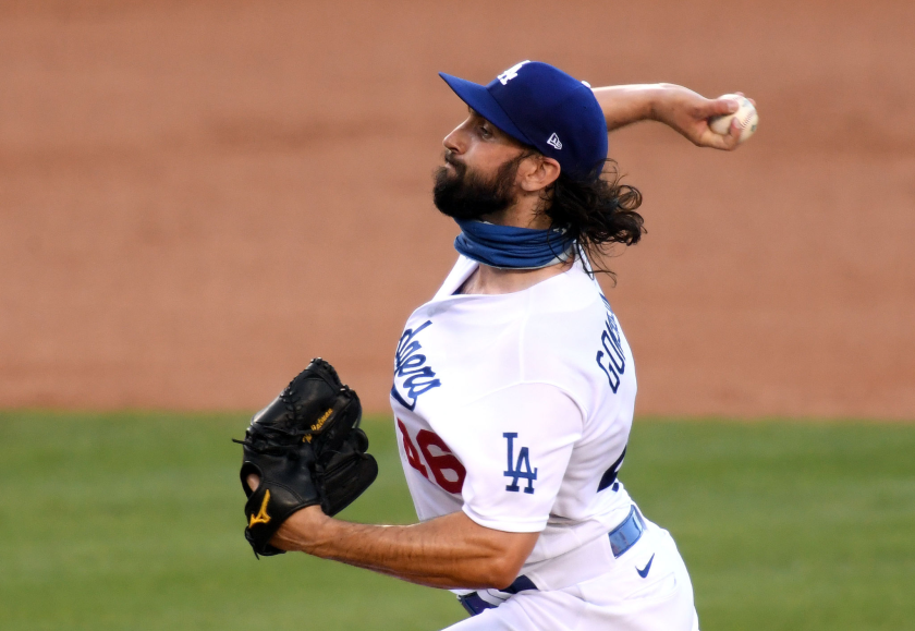 Dodgers pitcher Tony Gonsolin is convinced he received a false positive after a coronavirus test earlier this summer.
