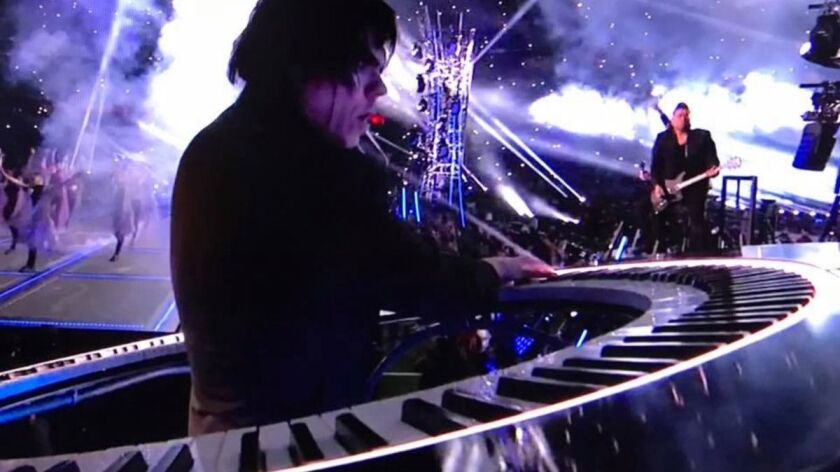 As Lady Gaga performed at the Super Bowl, her keyboardist Brockett Parsons, accompanied her on a round electric piano, bolstering the singer's reputation for innovation.