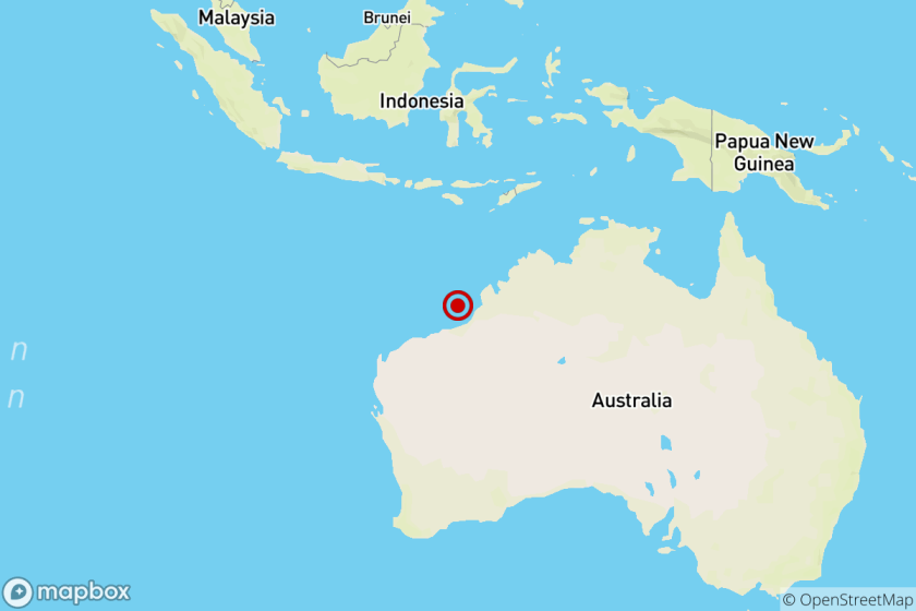 Earthquake: 6.6 quake shakes near Broome, Australia
