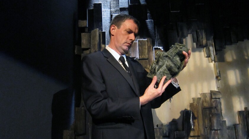 "Frank Blocker stars in a new adaptation of H.P. Lovecraft's ""The Call of Cthulhu"" at the Lex Theatre."