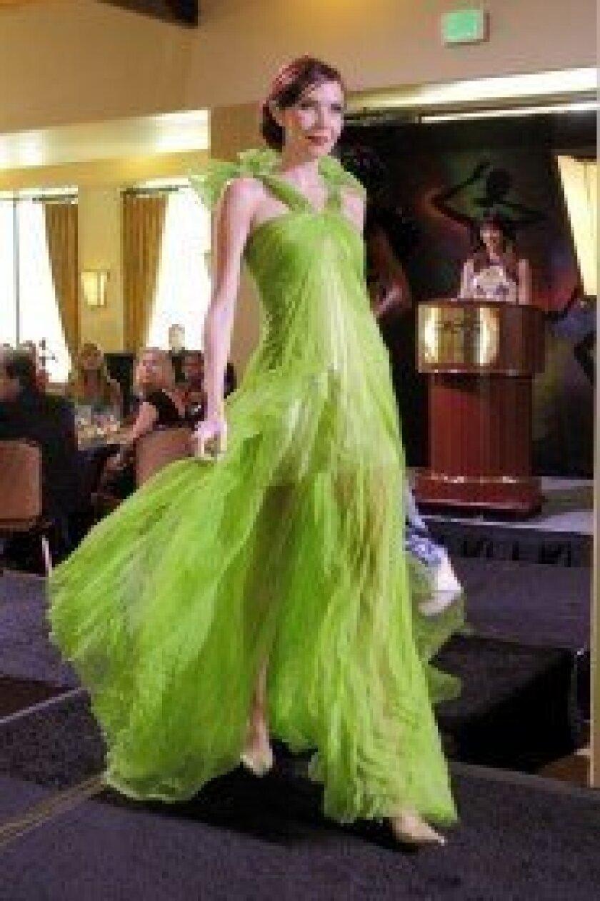 A model at the 2012 Dia Del Sol event.