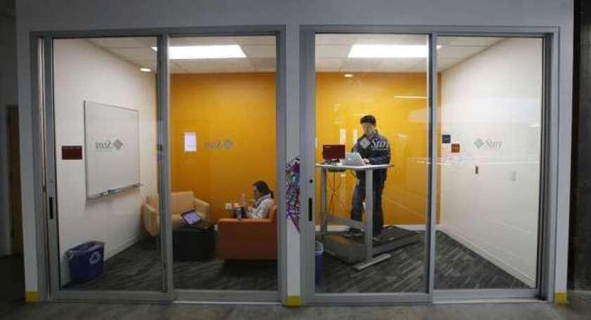 Alternatives to sitting at work