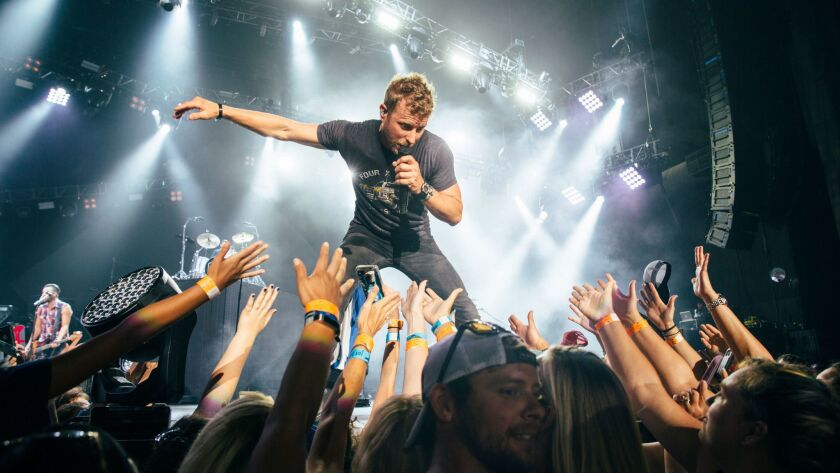 Dierks Bentley brings his world tour to San Diego on Aug. 25.