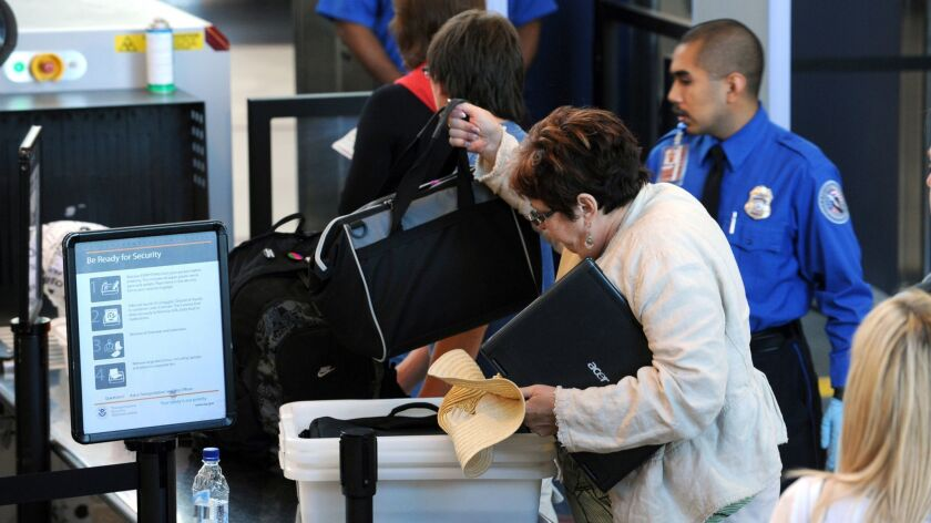 Beginning June 30, Transportation Security Administration agents may ask you to remove containers of certain powdered substances from your bag if those containers are larger than 12 ounces.