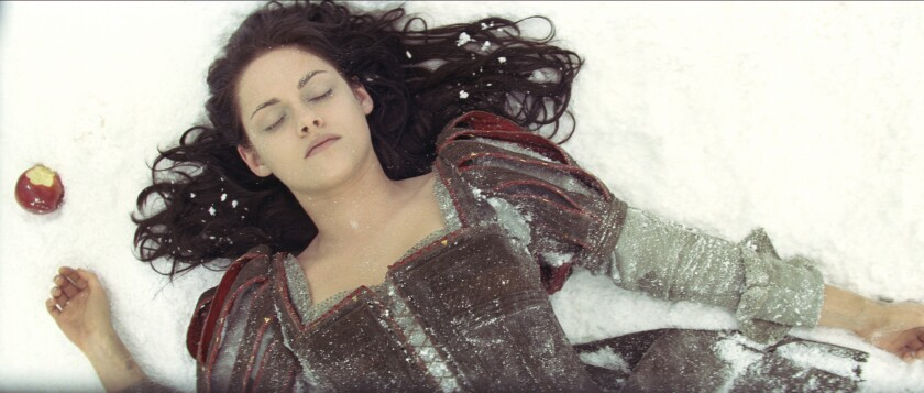 """Kristen Stewart of the """"The Twilight Saga"""" films plays Snow White in """"Snow White and the Huntsman."""""""