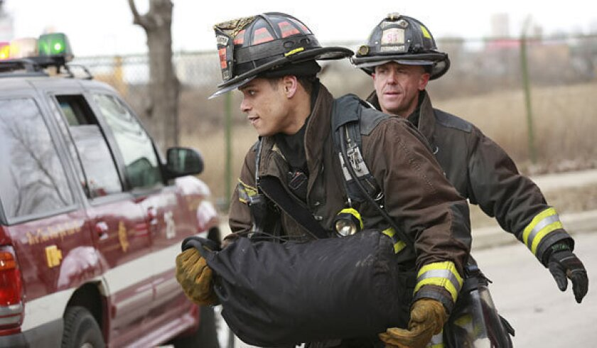 NBC renews five dramas, including 'Chicago Fire' and 'Grimm'