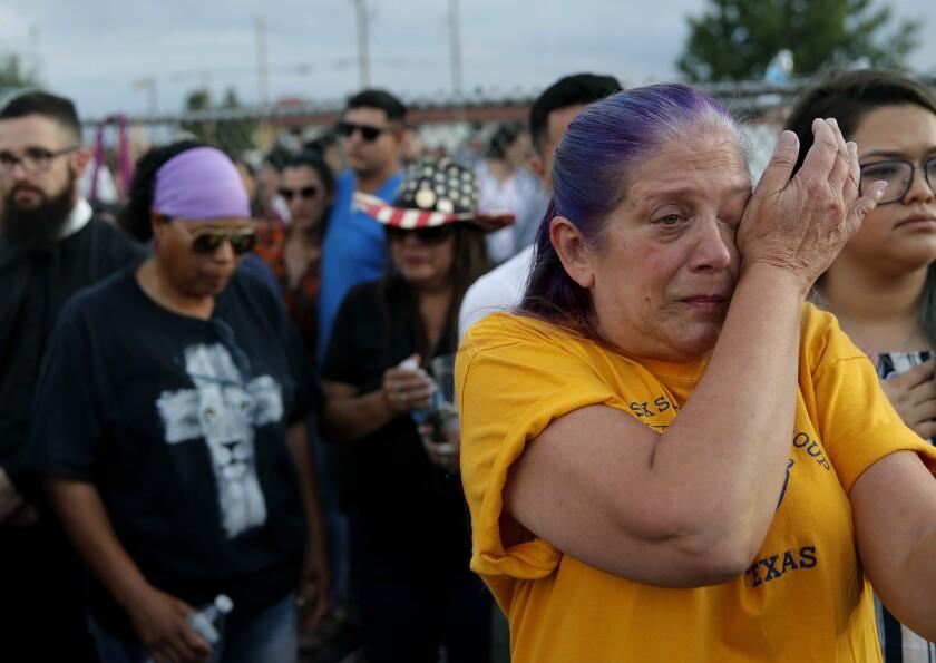 Vigil in El Paso