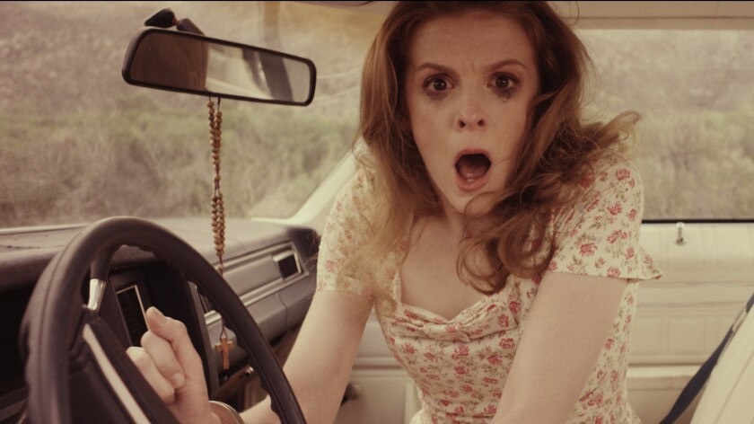 """Ashley Bell in """"Carnage Park."""""""