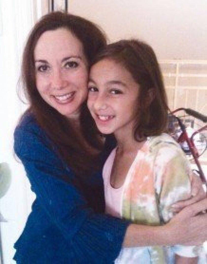 Marjie Block with niece Megan Spector.