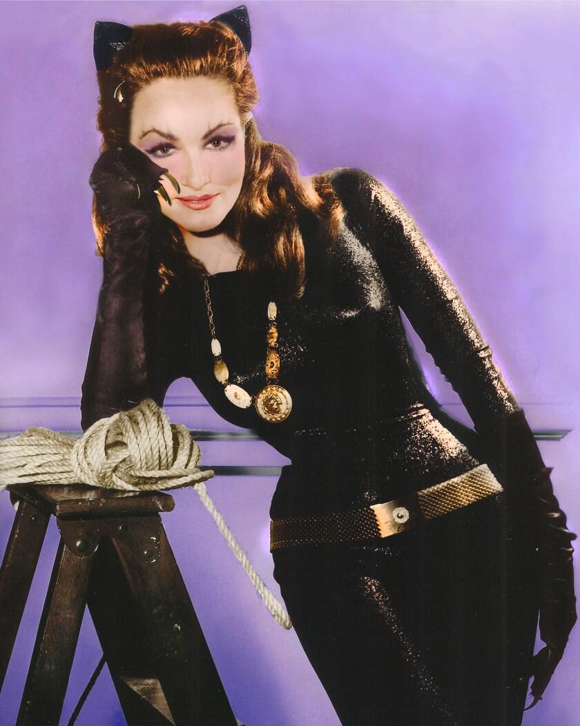 Julie Newmar as Catwoman
