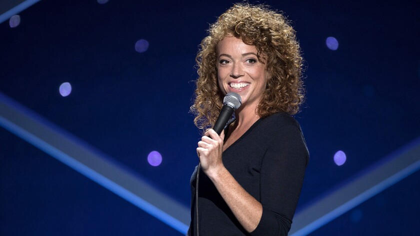 """""""Michelle Wolf: Nice Lady"""" on HBO."""