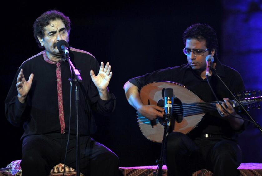 Iranian singer Shahram Nazeri