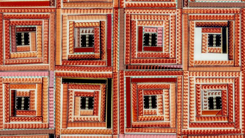 Her quilts are made of 16-mm film  Here's what they reveal