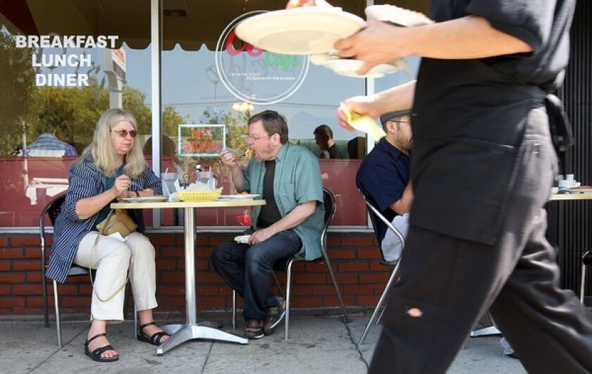 Boomers are growing their share of restaurant traffic