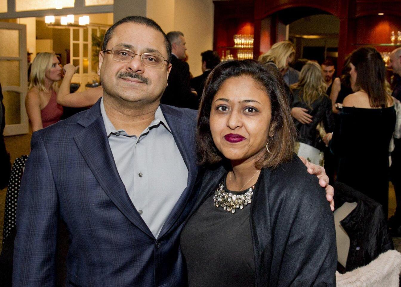 Ahmed and Rumana Ghouri