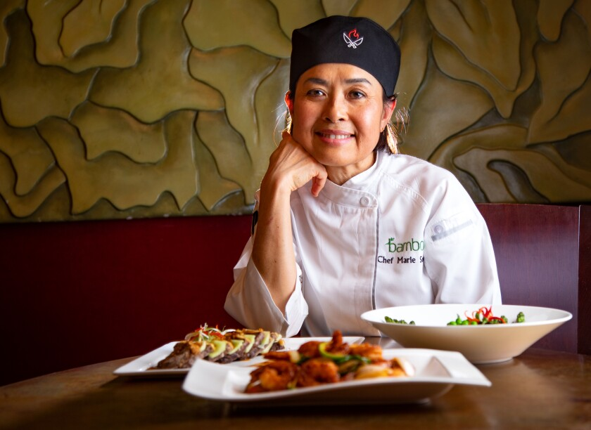 Pechanga Resort & Casino's Marie Surakul, head chef at Bamboo, is fearless in and outside of the kitchen.
