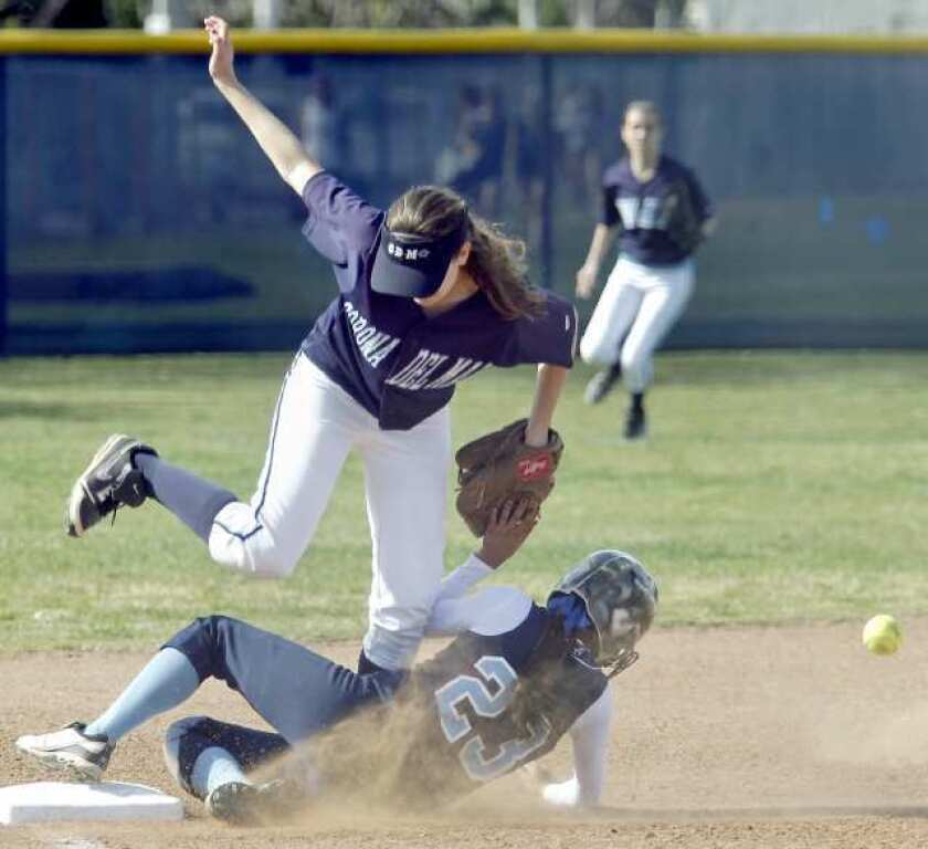 Mistakes cost CdM softball team in title game