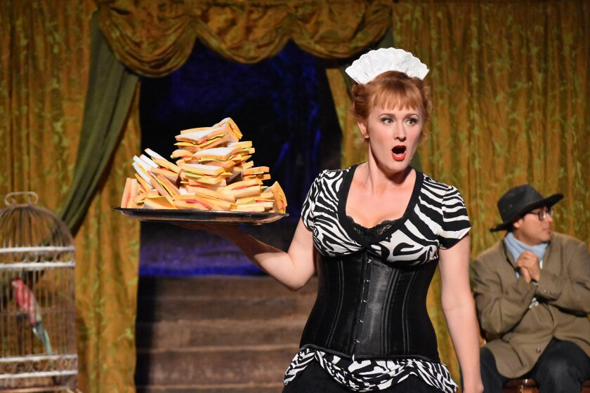 """The maid in """"The Skin of Our Teeth"""" puts the fun in life."""