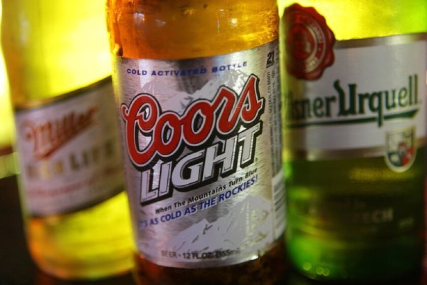 Molson Coors said its fourth quarter will be its most challenging of the year.