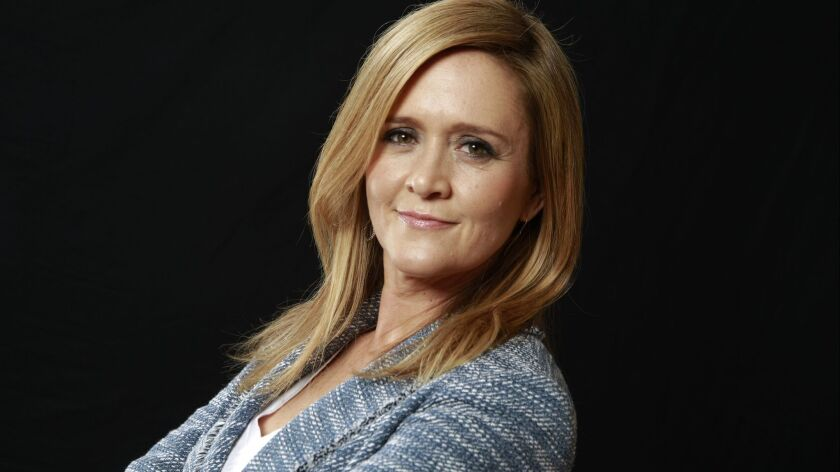 LOS ANGELES, CA - MAY 24, 2016 --Full Frontal with Samantha Bee is a late-night talk show that airs