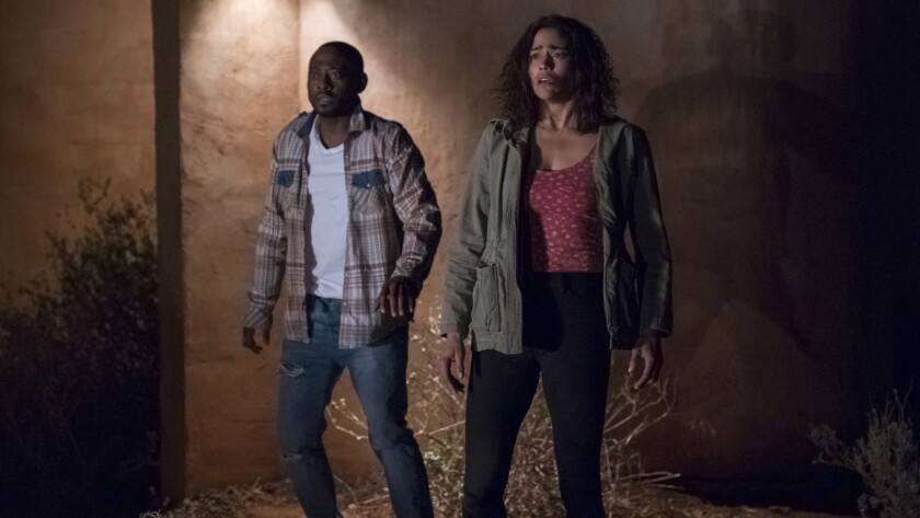 """Omar Epps and Paula Patton in the movie """"Traffik."""""""