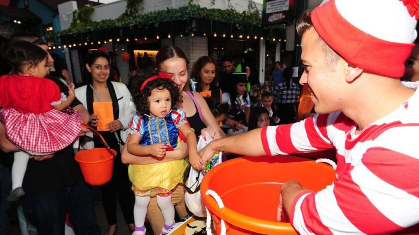 No tricks, just treats, for little ones at the annual Trick-or-Treat on India Street in Little
