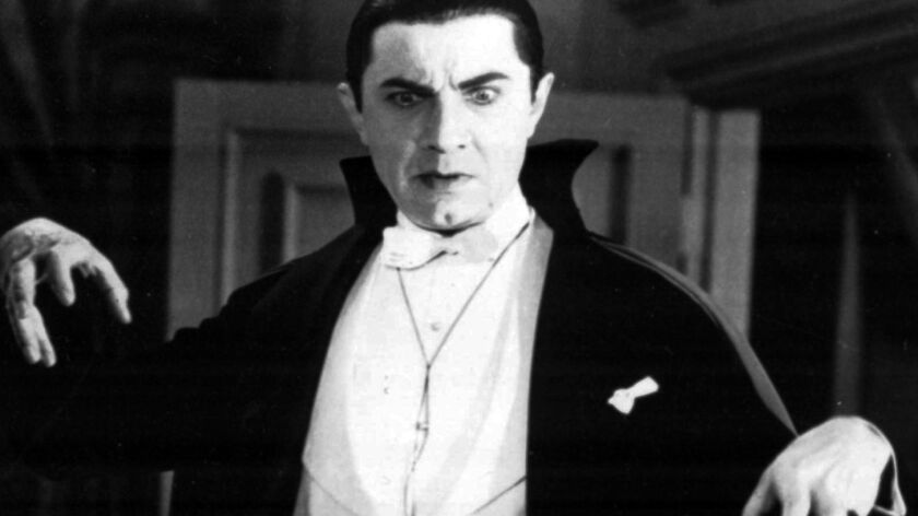 Bela Lugosi portrays the evil Count Dracula in the 1931 movie classic. (AP Photo)