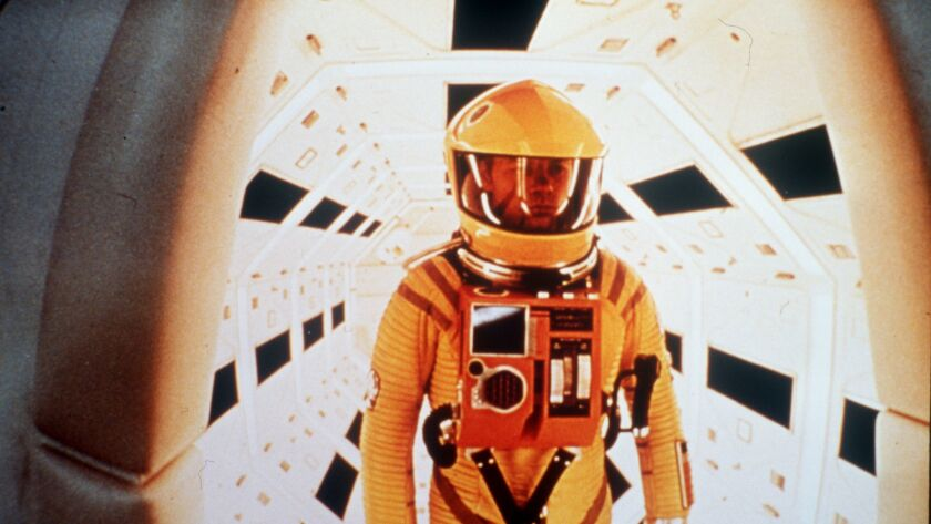 WK.Space1.Scene from2001:A Space Odyssey will screen at 4 p.m. on Saturday.April 7 and 10:30 a.m. on
