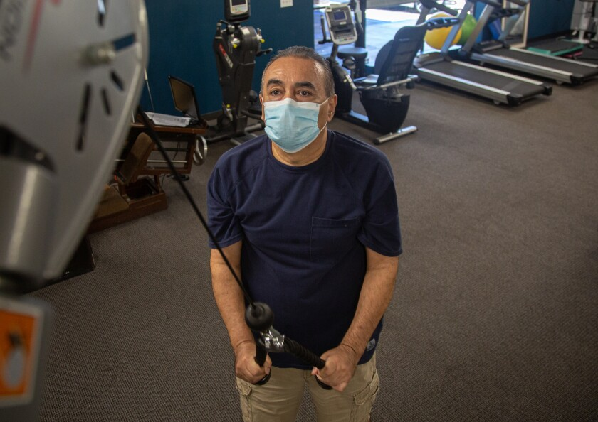 David Arellano does physical therapy at Spine & Sport Physical Therapy.