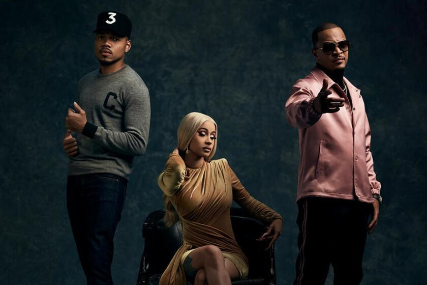 Chance the Rapper, Cardi B and T.I.