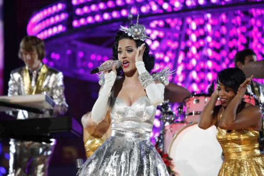 Pop star Katy Perry in 2010. The singer will perform at the tenth annual gala at the Hammer Museum, honoring artists Barbara Kruger and Cindy Sherman.