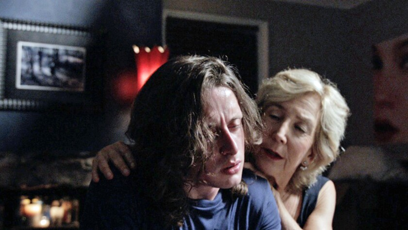 """Rory Culkin and Lin Shaye in """"Jack Goes Home."""""""